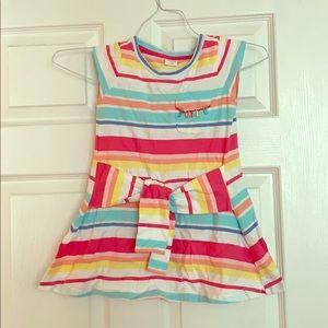 Girl's Gymboree Striped Dress